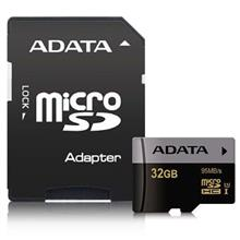 ADATA Premier Pro UHS-I U3 Class 10 95MBps microSDHC 32GB With Adapter